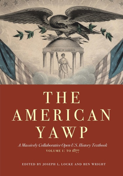 """""""The American Yawp"""" book cover."""